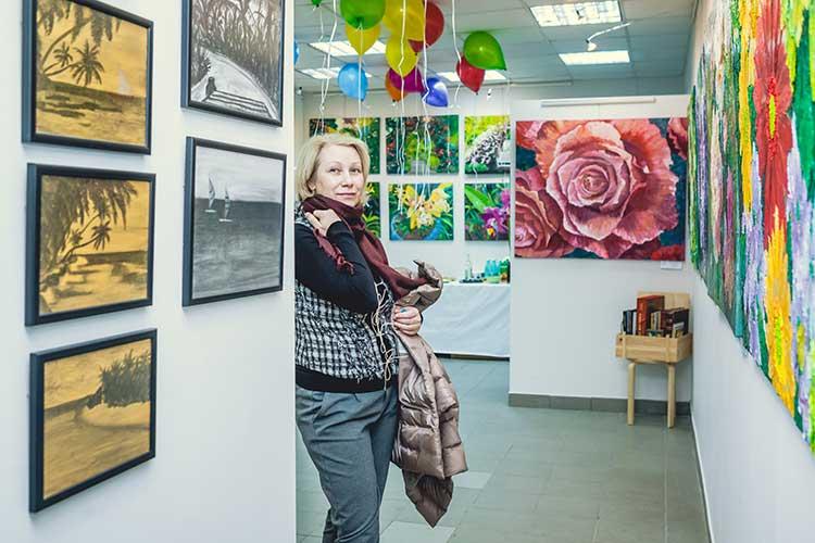 Картинная галерея Марины Домаревой